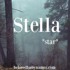 Beloved Baby Names: Names of the Week: Stella and Tucker