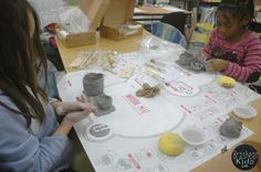 The Brashear Kids: Clay Case Day at New Artists