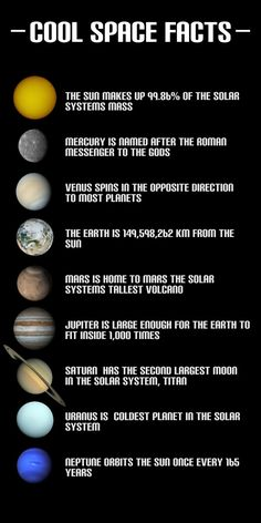 facts about the nine planets of our solar system.there may be only nine planets, but for me, there are ten planets in our solar system. I will always count Pluto as a planet! Cosmos, Earth Science, Science And Nature, Science Space, Ecole Bilingue, Space And Astronomy, Astronomy Facts, Astronomy Science, Space Planets