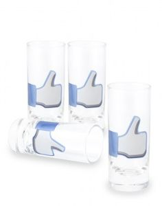Social Media Shot Glasses