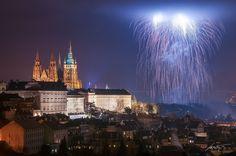 --Prague Fireworks 2015-- by Marek Kijevský on 500px