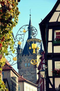 historische Kaiserpfalz Bad Wimpfen, HeilbronnerLand, Baden-Württemberg, Germany  auch einen Besuch wert, dass Kloster Bad Wimpfen im Tal mit der Ritterstiftskirche: http://www.radsüden.de/Info/Ritterstiftskirche_St_Peter_-_Kloster_Bad_Wimpfen_im_Tal