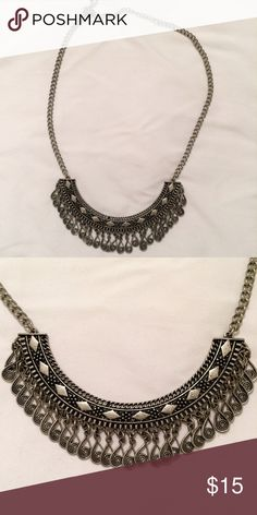 Pacsun Tribal Necklace Pacsun Tribal Necklace in silver and brand new conditions PacSun Jewelry Necklaces