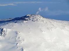 Erebus volcano in Antarctica