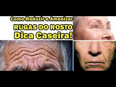 Incrível Receita Caseira: Como Acabar com as Rugas do Rosto Pés de Galin...