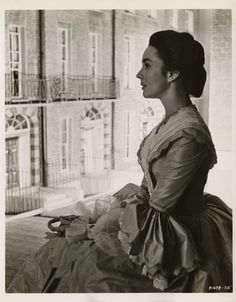 "Jennifer Jones -  portrait from ""The Barretts of Wimpole Street""by Cecil Beaton. (M-G-M, 1957)"