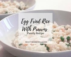 Egg Fried Rice With Prawns