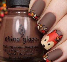 Осень лиса