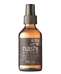 Nashi Argan Dry Oil Perfect Body. Preserves from all the skin imperfections and signs of ageing through its exclusive formula with Bio Certified Argan Oil, Abyssinian Oil and antioxidants substances. It provides a feeling of softness without grease, givin