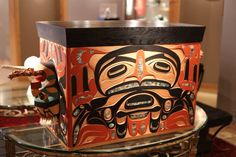 Moy's Bentwood Boxes  Native art by Moy sutherland