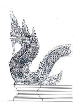 Art Drawings, Amazing Art, Thailand Art, Buddha Art, Culture Art, Tibetan Art, Buddhism Art, Airbrush Art, Thai Art