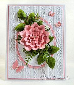 Spellbinders Blossom Two die set and EK Success mini daisy punch