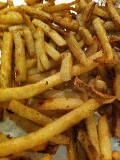 Jicama baked fries I've never seen a jicama...now I want to try one!