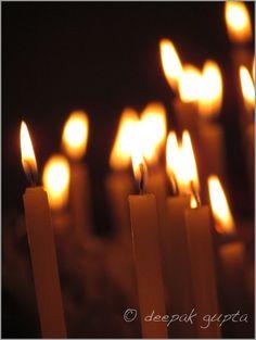 Nothing But Candles by Deepak Gupta, via 500px
