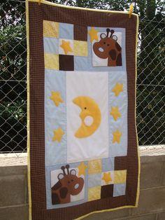 Trocitos de vida : Colcha patchwork infantil / Baby child quilt
