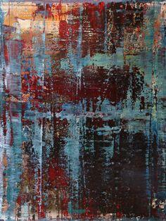 """Koen Lybaert; Oil 2014 Painting """"abstract N° 945"""""""