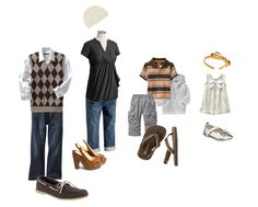 family outfit (with maternity for the woman)