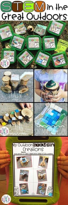 Outdoor Discovery STEM Bins for Outdoor Classrooms and Nature Studies | Elementary STEM Challenges