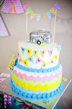 {Tween Party Ideas} � Glamping Party