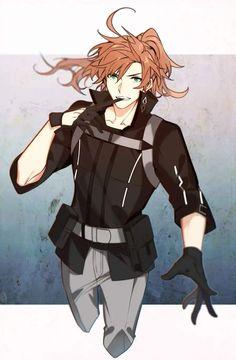 Romani in Mystic Code (Goofball & Manga Character Concept, Character Design, Manga Anime, Anime Art, Fate Anime Series, Estilo Anime, Handsome Anime Guys, Fate Zero, Fate Stay Night