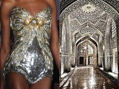 jean paul gaultier, 2009 / the palais garnier opera house, paris. zuhair murad, 2013. dolce & gabbana, 2013. givenchy, 2010 / dôme de la grandes mosquée, ...