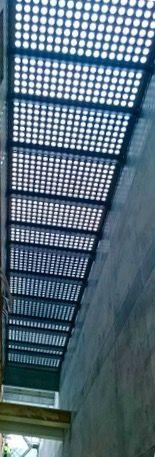 P-anlæggets ovenlys over forbindelsesrum. Kvæsthusprojektet by Lundgaard & Tranberg Architects and Julie Kierkegaard landscape Architects