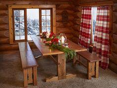 Сказочный домик Деда Мороза на Северном полюсе