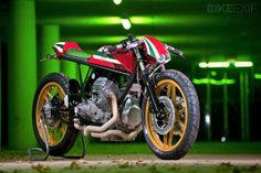Manners Moto Guzzi V50 by Rno Cycles