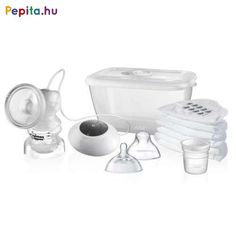 Provide your baby with the benefits of breast milk even when feeding time requires a bottle with Electric Breast Pumps from Tommee Tippee. Buy online now. Breastfeeding Accessories, Breastfeeding Tips, Breastmilk Storage, Baby Comforter, Pumps, Bottle Feeding, Closer To Nature, Baby Essentials, Baby Feeding