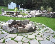 And this fire pit...