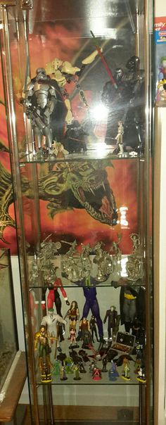 The billman's adult collectible's cabinet
