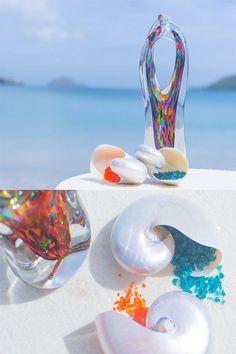 The best alternative to a unity candle or sand ceremony. Boho Beach Wedding, Wedding Sand, Wedding Unity Ideas, Unity Candle Alternatives, Sand Ceremony, Wedding Ceremony, Unity Sand, Magical Wedding, Alternative Wedding