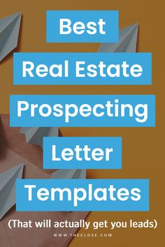 """Looking to build your client list? Experts say that older homeowners still respond well to mailed letters. Check out 11 of the best real estate prospecting letter templates and get 5 FREE… More "" Real Estate Slogans, Real Estate Advertising, Real Estate Quotes, Real Estate Career, Real Estate Logo, Real Estate Leads, Real Estate Business, Real Estate Investor, Real Estate Tips"