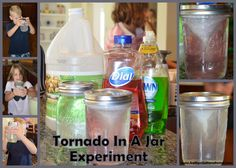 Kathys Cluttered Mind: Twisting Tornadoes - Craft, Experiment, Journal Page and More