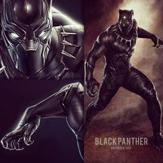 """""""Two new pieces of Black Panther concept art have surfaced..."""""""