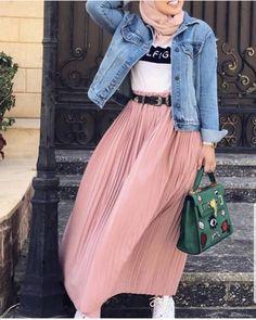 Hijab Fashion Summer, Modest Fashion Hijab, Stylish Hijab, Modern Hijab Fashion, Hijab Fashion Inspiration, Islamic Fashion, Hijab Style Dress, Street Hijab Fashion, Muslim Fashion