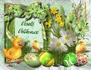 velikonoční přání – Obrázky.cz Rooster, Floral Wreath, Decor, Decoration, Decorating, Dekorasyon, Dekoration, Floral Garland, Flower Crowns