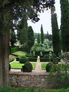 For my next trip to Italy, il giardino all'italiana di villa vignamaggio