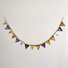 One of my favorite discoveries at WorldMarket.com: Halloween Banner