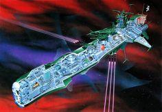 Arcadia - Captain Harlock