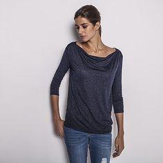 Top, T-shirt manches longues IKKS l Marque de Vêtements Femme Hiver 15