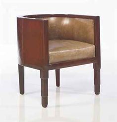 Art Deco chair // by JEAN DUNAND (1877-1942)