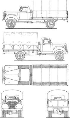 GMC ACK 353 blueprint