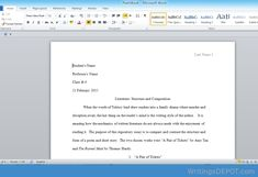 """Download: http://writingsdepot.com/downloads/literature-structure-and-composition/ Expository essay of at least 900 words in MLA format. Works cited page needed. Compare and contrast the structure and form of poetry and a short story. Sample Poetry below and the Short Story by Amy Tan called """"A Pair of Tickets"""" can be used in comparing and contrasting the two short texts. The Ruined Maid By: Thomas Hardy """"O 'Melia, my dear, this does everything crown! Who could have supposed I should meet…"""