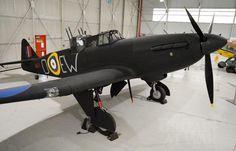 Boulton Paul Defiant I N1671,at Cosford. RAF MUSEUM