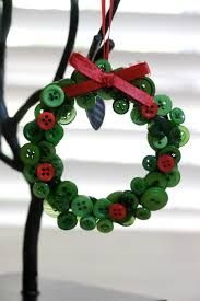 Image result for Little tree ornaments made out of buttons!