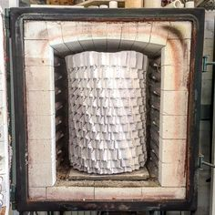 A just fitter  #pattern #structure #vase #ceramic #ceramicdesign #glaze #kiln #oven #fire #extruder #extrusion