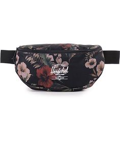 This is not your average fanny pack, this is your Mary Poppins fanny pack. This Sixteen Floral Camo Fanny Pack by Herschel will hold it all and then some. The same awesome look, feel and fit, just bigger! The 5 liter capacity is perfect for any trip, conc