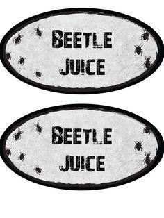 Printable Potion Bottle Labels | DIYNetwork.com #halloween
