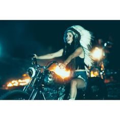Lana Del Rey Goes on One Wild Crazy 'Ride' [VIDEO] ❤ liked on Polyvore